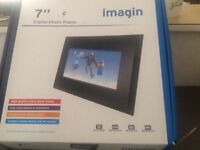Imagin 7ins digital photo frame ( new)