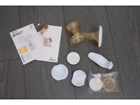 PHILIPS AVENT Manual Brest Pump used