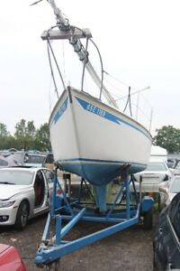 YANMAR SAIL BOAT AND TRAILER READY TO GO!