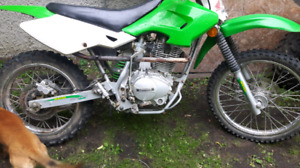 2006 mx 150 with a 200cc crate motor