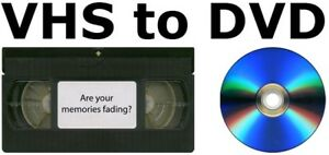 Convert old VHS Video tape in to DVD