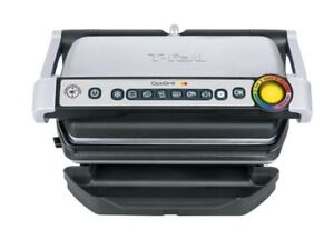 T-Fal OptiGrille Stainless steele indor Electric grill 1800 watt