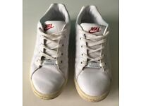 NIKE White Trainers Womens Size 4