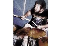 Drummer Available for Crossover Thrash or fast Punk