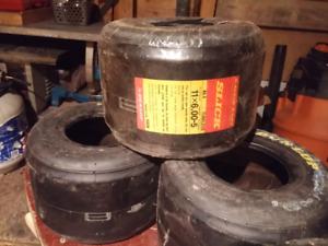 Go-kart racing tires