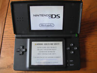 Nintendo DS Lite - black with 3 games