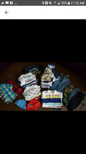 3/6 months baby boy lot- 70 items