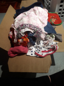 Box Stuffed With Girl Clothes!