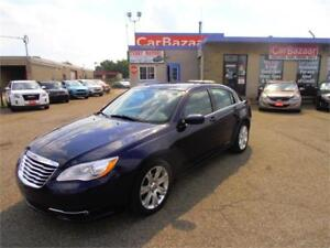 2013 CHRYSLER 200 TOURING 4 CYL LOW PRICE EASY CAR FINANCE