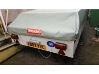 Trigano 8 berth trailer tent