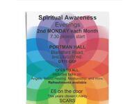 Spiritual Awareness Evenings, Shillingstone, Dorset. DT11 0SF