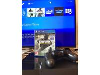 PS4 500GB with COD Infinite warfare and Modern Warfare