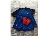 Football France kit perfect condition size 7 to 8