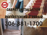 Carpet Installation Re-stretching & Repair