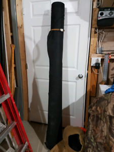 Large roll of weed fabric
