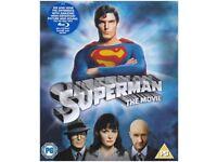 Superman The Movie on Blu-Ray