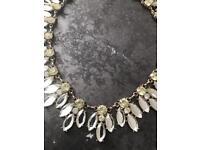 Beautiful gem occasion necklace