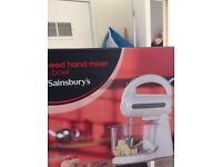 5 speed hand mixer