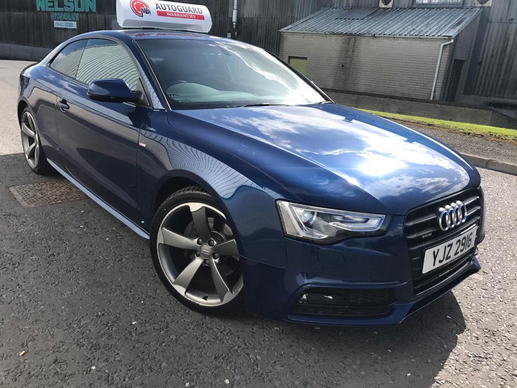 2012 scuba blue audi a5 quattro s line black - Audi a5 coupe 3 0 tdi quattro s line special edition ...