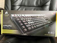Corsair Raptor K40 Gaming keyboard