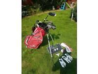 Wilson D-200 series golf clubs