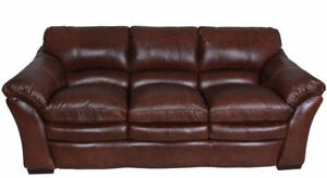 100% Leather Sofa and Loveseat La-Z-Boy