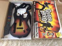 Guitar Hero World Tour wii Guitar controller