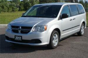2012 Dodge Grand Caravan Crew *Low Km* Very Clean No Accident!