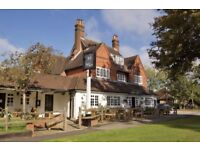Waiting staff - Woking - Competitive pay plus tips ££