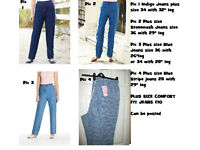 Simplybe/Marisotta Ladies Plus Size Comfort Fit Jeans Only £10 a pair