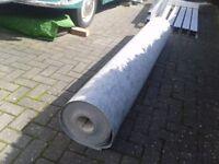 Exhibition Grade Carpet Roll in Grey