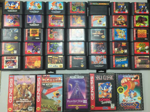 Sega Genesis - AMAZING Collection CLEARANCE!