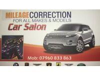 Mileage correction london mobile service