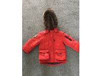 Boys nutmeg coat