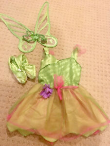 Toddler girl size 3T-5T Tinker Bell outfit with new wand