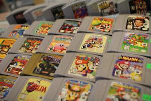 Nintendo 64 Games! Mario Party 1-3 Smash Bros Kirby Banjo +list!