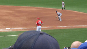 BLUE JAYS vs BOSTON RED SOX AUG 30th--FIRST BASE