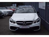 2015 Mercedes-Benz E Class E63 Estate 5.5V8 557 SS AMG SpdS MCT7 Petrol white Au
