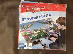 2 floor puzzles & 2 memory games