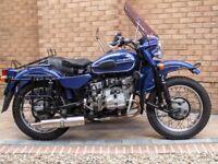 2002 URAL 750 DALESMAN MOTORCYCLE AND SIDECAR