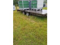 14ft flat bed trailer