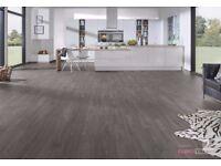 Polyfloor Bevelline flooring approximately 12m2. Smoked Chestnut, BRAND NEW