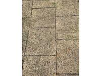 Paving slabs 20m square (used)
