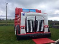 2016 Party Bus Disco Bouncy Castle