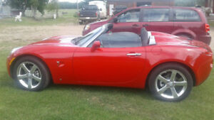 2008 Pontiac Solstice Convertible  / Only 12700  kms
