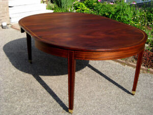 100 yrs + Victorian Mahogany Dining Table, Chairs, Sideboard