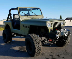 Classic - 1987 Jeep Wrangler YJ (ARMY Themed)