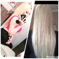 MOBILE HAIR EXTENSIONS! Same day appts! $380 full head