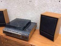 Retro 1960s PYE System 5003 & 2 x Speakers