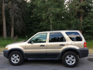 2007 Ford Escape 4 speed automatic SUV, Crossover